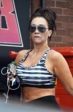 LAUREN GOODGER Leaves a Gym in Essex 06/14/2018