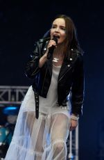 LAUREN MAYBERRY (CHVRCHES) at Parklife Festival at Heaton Park in Manchester 06/10/2018
