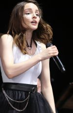 LAUREN MAYBERRY Performs at Radio 104.5 in New Yersey 06/17/2018