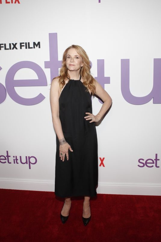 LEA THOMPSON at Set It Up Specials Screening in New York 06/12/2018