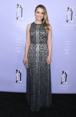 LEAH WYAR at 2018 Fragrance Foundation Awards in New York 06/12/2018