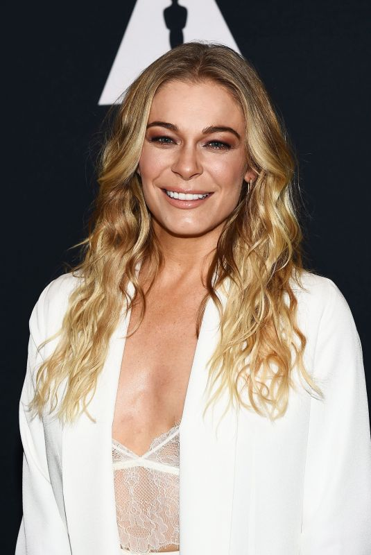 LEANN RIMES at Academy Hosts The Sherman Brothers: A Hollywood Songbook in Los Angeles 06/20/2018