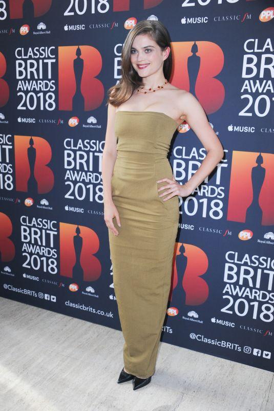 LENA MELCHER at Classic Brit Awards in London 06/13/2018
