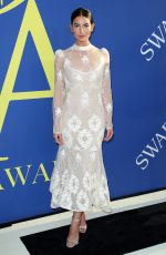 LILY ALDRIDGE at CFDA Fashion Awards in New York 06/05/2018