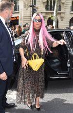 LILY ALLEN at Dior Homme Spring/Summer Fashion Show in Paris 06/23/2018
