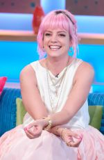 LILY ALLEN at Sunday Brunch Show in London 06/10/2018