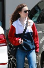 LILY COLLINS Out Shopping in West Hollywood 05/31/2018