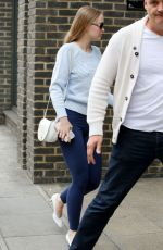 LILY-ROSE DEPP Arrives at a Studio in London 06/12/2018
