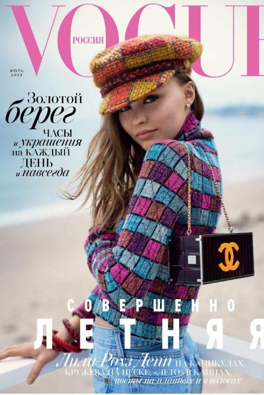 LILY-ROSE DEPP in Vogue Magazine, Russie July 2018 Issue