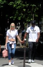 LINDSEY VONN Out Shopping in Paris 06/25/2018