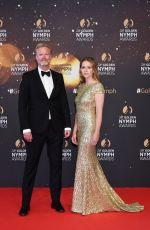 LISA HENNI at 58th Monte Carlo TV Festival Closing Ceremony 06/19/2018