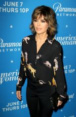 LISA RINNA at American Woman Premiere Party in Los Angeles 05/31/2018