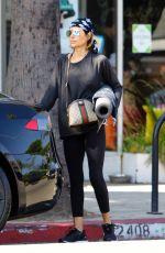 LISA RINNA Leaves Yoga Clas in Los Angeles 06/25/2018