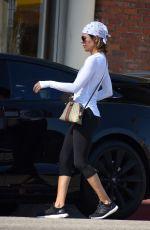 LISA RINNA Leaves Yoga Clas in Studio City 06/26/2018