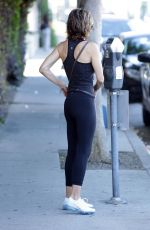 LISA RINNA Out and About in Hollywood 06/27/2018