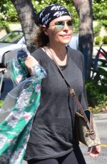 LISA RINNA Out and About in Los Angeles 06/25/2018
