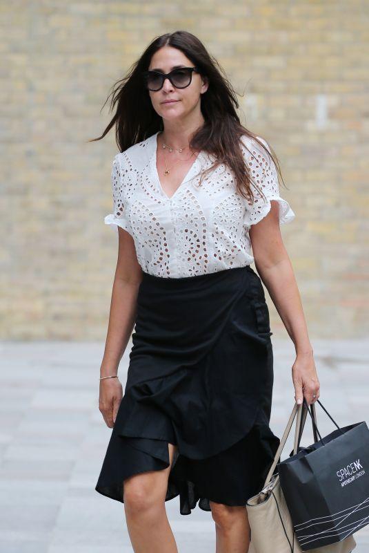 LISA SNOWDON at ITV Studios in London 06/19/2018