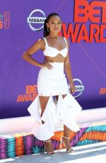 LOGAN BROWNING at BET Awards in Los Angeles 06/24/2018