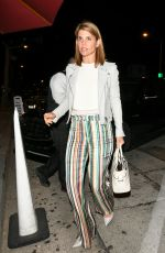 LORI LOUGHLIN Out for Dinner in West Hollywood 06/05/2018