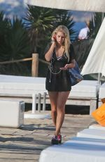 LOTTIE MOSS Out and About in Ibiza 05/23/2018