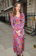 LOU HAYTER at Moet Summer House Launch Party in London 06/07/2018
