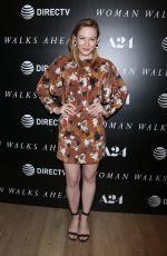 LOUISA KRAUSE at Woman Walks Ahead Special Screening in New York 06/26/2018
