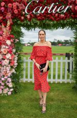 LOUISE ROE at Cartier Queens Cup Polo in Windsor 06/17/2018