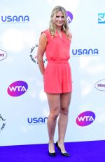 LUCIE SAFAROVA at WTA Tennis on the Thames Evening Reception in London 06/28/2018