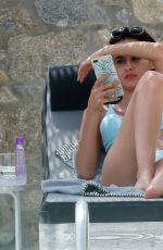 LUCY and TIFFANY WATSON in Bikinis on Holiday in Mykonos 06/20/2018