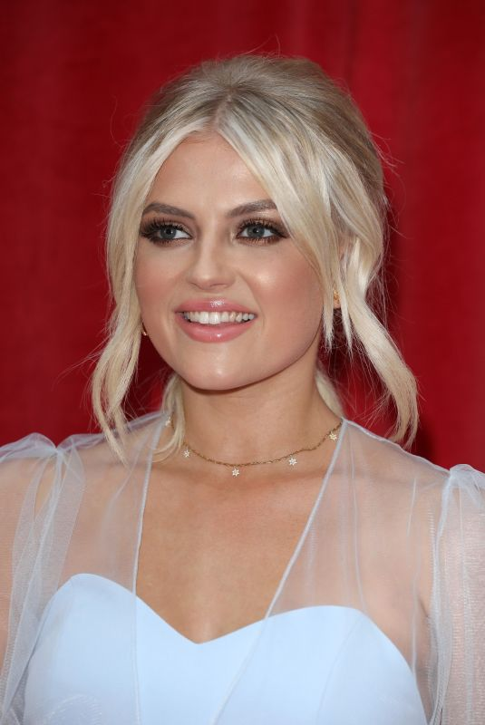 LUCY FALLON at British Soap Awards 2018 in London 06/02/2018