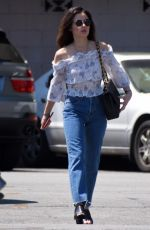 LUCY HALE Leaves a Gym in Studio City 06/25/2018