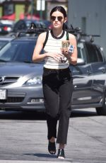 LUCY HALE Out and About in Los Angeles 06/26/2018