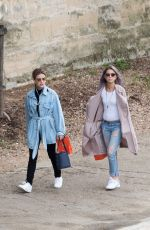LUCY HALE Out and About in Paris 06/05/2018