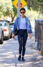 LUCY HALE Out at Griffith Park in Los Angeles 06/27/2018