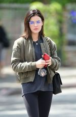 LUCY HALE Out for Breakfast in Los Angeles 06/29/2018