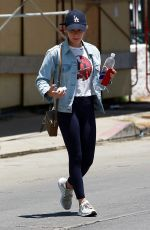 LUCY HALE Out in Los Angeles 06/15/2018