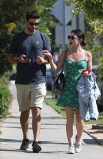 LUCY HALE Out in Los Angeles 06/27/2018