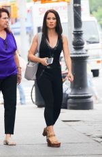 LUCY LIU Out and About in New York 06/22/2018