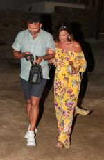 LUCY MECKLENBURGH and Ryan Thomas Night Out in Mykonos 06/24/2018