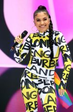 MABEL MCVEY Performs at Capital Radio Summertime Ball 2018 in London 06/09/2018