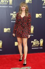 MADCHEN AMICK at 2018 MTV Movie and TV Awards in Santa Monica 06/16/2018
