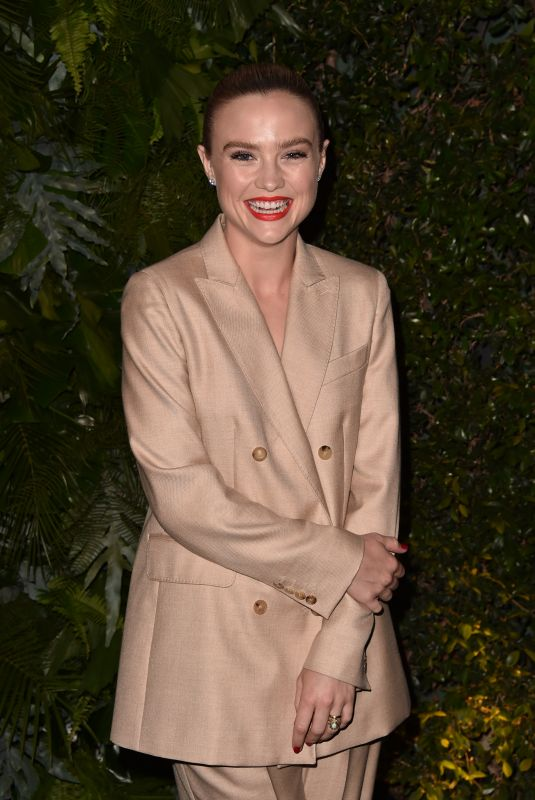 MADDIE HASSON at Max Mara WIF Face of the Future in Los Angeles 06/12/2018