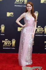 MADELAINE PETSCH at 2018 MTV Movie and TV Awards in Santa Monica 06/16/2018