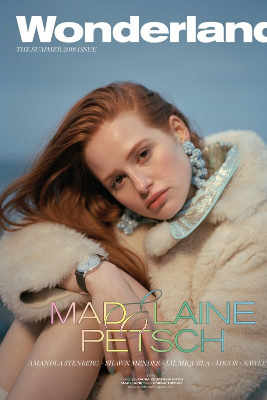 MADELAINE PETSCH for Wonderland Magazine, Summer 2018