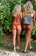 MADI EDWARDS and AMELIA JANE in Bikinis on Holiday in Hawaii 06/08/2018