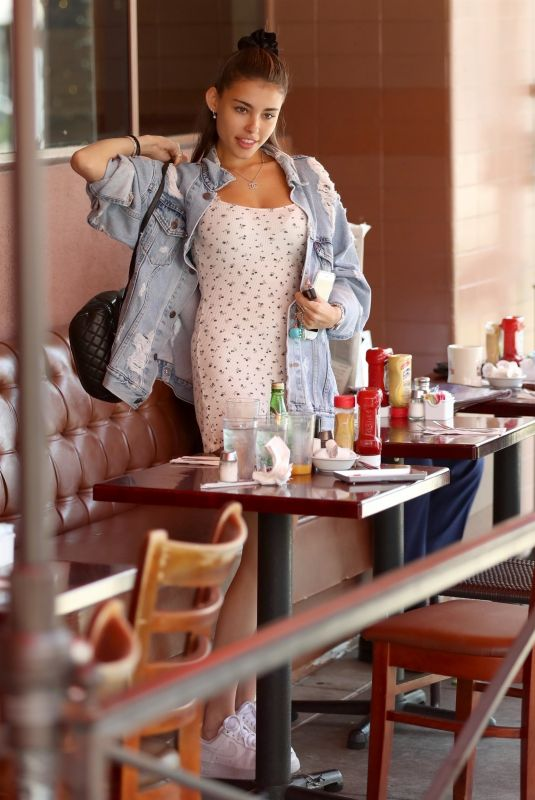 MADISON BEER at Breakfast at Nate