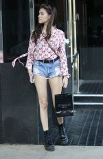 MADISON BEER in Daisy Dukes Shopping at XIV Karats in Beverly Hills 06/18/2018