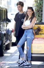 MADISON BEER Out for Lunch at Il Pastaio in Beverly Hills 06/02/2018