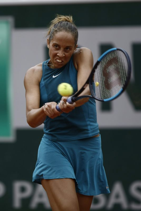 MADISON KEYS at French Open Tennis Tournament in Paris 06/05/2018