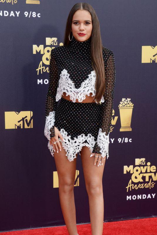 MADISON PETTIS at 2018 MTV Movie and TV Awards in Santa Monica 06/16/2018